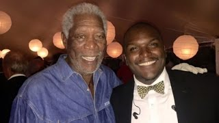 Morgan Freeman Partied with Obamas Hours before Granddaughter Died