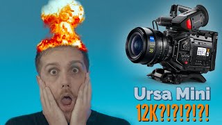 Blackmagic Ursa Mini Pro 12k - BEAST or Gimmick? My Thoughts on the Announcement