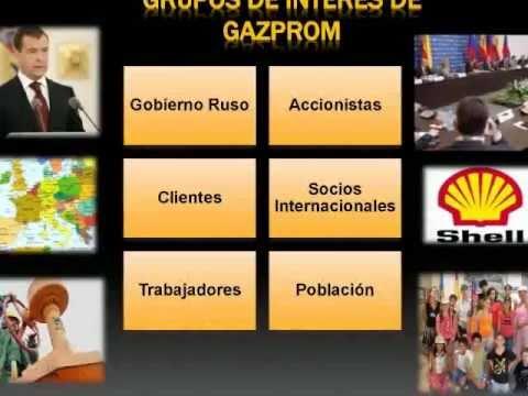 GAZPROM  Es el mayor extractor de gas natural en el mundo