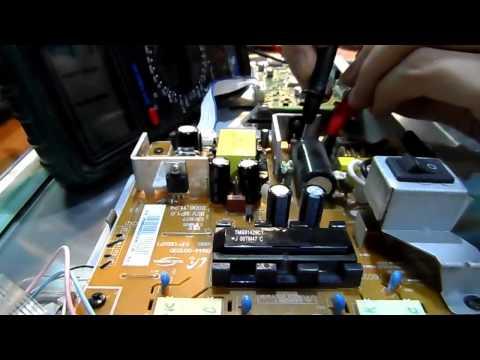 видео: Монитор samsung 913bm. Не включается