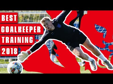 Incredible Diving Saves & Double Shot Blocks! | Best of Goalkeeper Training 2018 | England