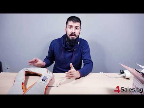 Тапинг масажор за врат гръб и рамене -масаж epulse TV73 11