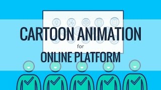 Cartoon-Animation für Online Plattform | Video-Produktions-Unternehmen, Reading, Berkshire