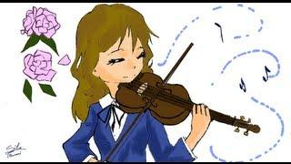 UN SOUNO MERAVIGLIOSO! I Draw #7  [la violinista]]