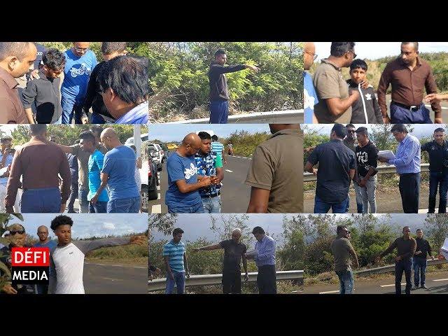 Rallye illégal à Goodlands : neuf suspects retournent sur les lieux des incidents