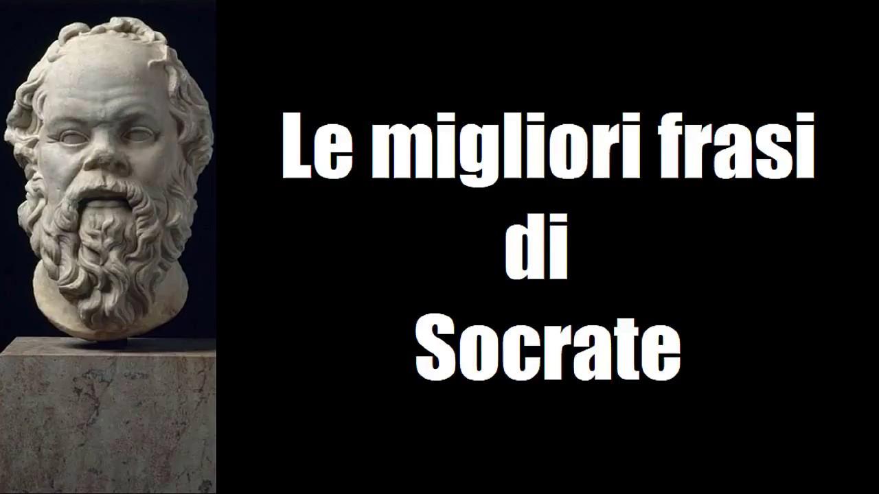 Frasi Celebri Di Socrate Youtube