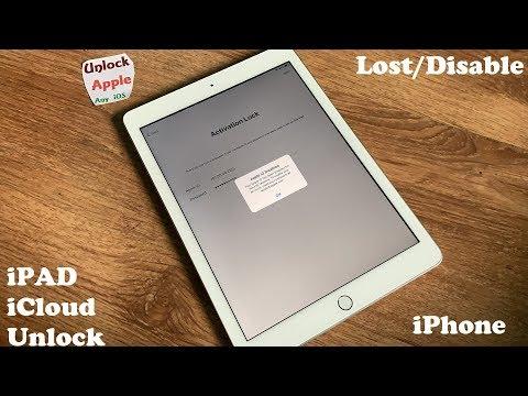 Factory Reset ICloud Locked IPad And Remove ICloud Account IPhone IOS 6,7,8,9,10,11,12