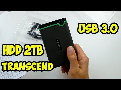 Обзор внешнего диска HDD Transcend StoreJet 25M3 2TB. Тесты производительности.