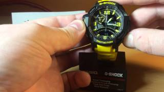 видео Часы касио с компасом и барометром и термометром
