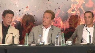 Expendables 2 Press Conference (Paris)