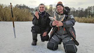 Дядя Фёдор и зимняя рыбалка на окуня Кто придумал мормышку Лесотка