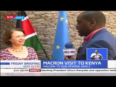 Macron visit to Kenya |KTN Business full bulletin