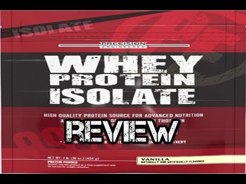 Whey Protein Isolate By Precision Engineered Review