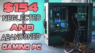 The 'Abandoned PIZZA' Gaming PC - DOUBLE a 2400G Performance for $154...!