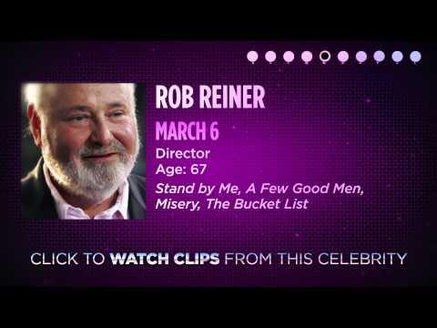 Celebrity Actor Birthdays - March 2-8, 2014 HD