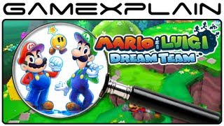 Mario & Luigi: Dream Team - Screenshot Analysis Part 3 (Secrets & Hidden Details)