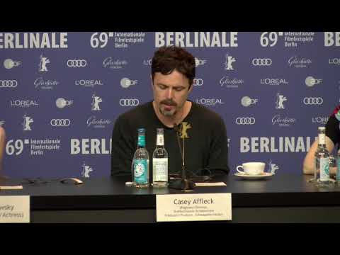 Casey Affleck On Light Of My Life Press Conference Berlinale 2019