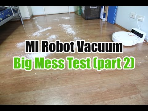 Xiaomi Robot Vacuum Big Mess Test (Part 2): Improved Cleaning Performance