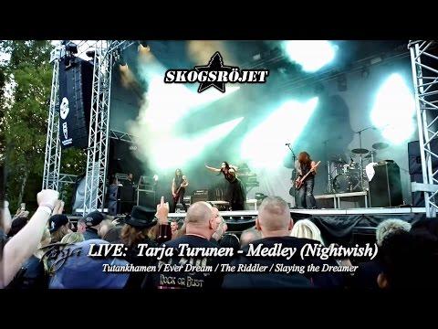 Tarja Turunen - Medley (Nightwish Covers) Skogsröjet 2016-08-06 Rejmyre Sweden