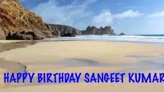 Sangeet Kumar   Beaches Playas - Happy Birthday