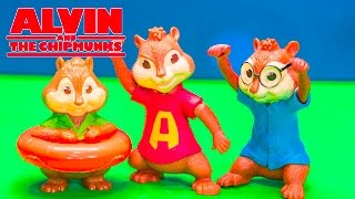 ALVIN AND THE CHIPMUNKS Blind Bags SURPRISE Video + Alvin Chipmunks + Chipettes Toys Video Unboxing