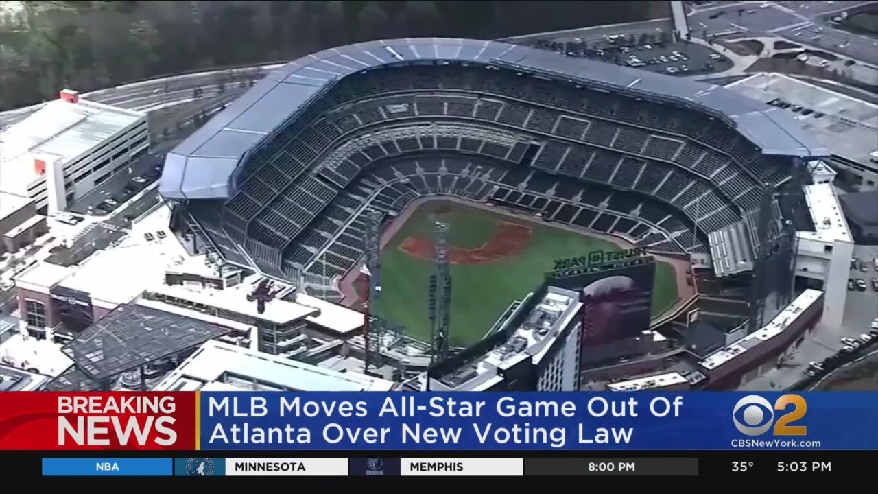 MLB Pulls All-Star Game From Atlanta, Georgia in Response to ...