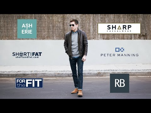 Where To Buy Clothes For Short Men | Complete List Of Brands