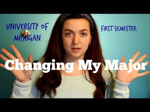 I want to change my major; should I?