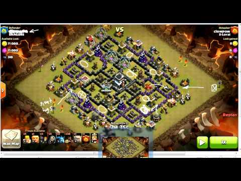 GoHog Strategy vs TH9, Forum Update, and YouTubers | Clan Wars Strategy | Clash Of Clans HD