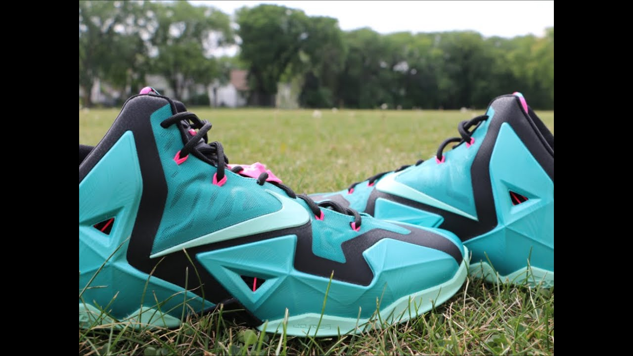 new arrival 5af02 54d55 Nike LeBron 11 South Beach - Detailed Review