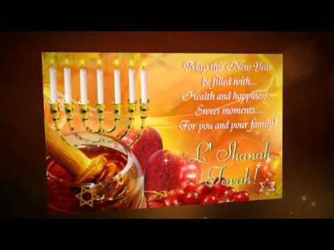 Rosh hashanah wishes from 123greetingscom youtube m4hsunfo