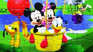 disney clubhouse puzzle games rompecabezas mickey mouse kids learning toys puzzles jr games junior