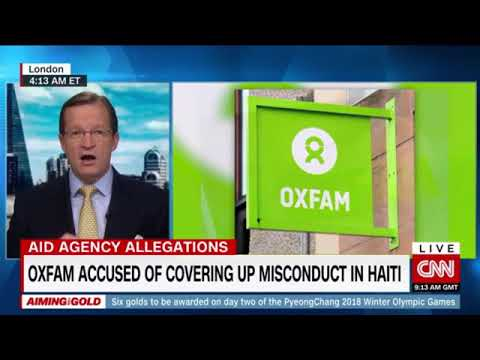 CNN #OxfamCrisis with Andrew Macleod