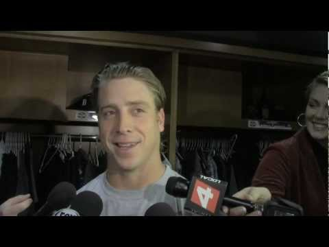 Andy Dirks Tigers OF preps for Game 1 ALDS
