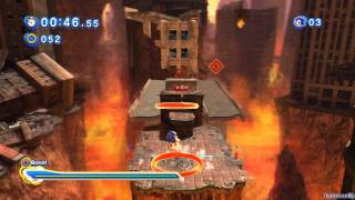 Sonic Generations PS3 - [Part 15 ~ Crisis City ~ Act 01 / 02]