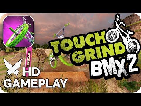 Показываю трюки в игре BMX 2