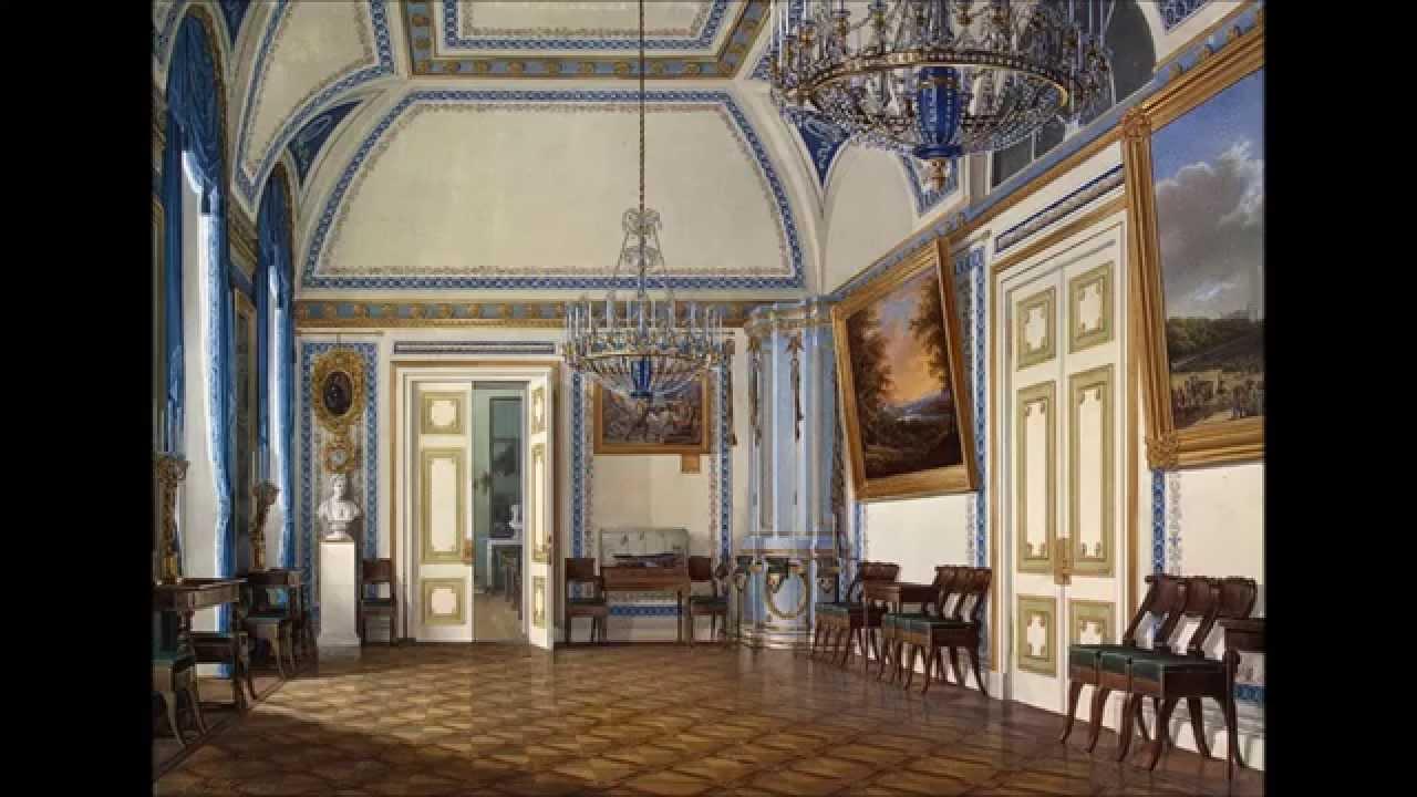Edward Petrovich Hau Interiors Of The Winter Palace