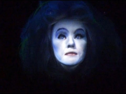 Madame Leota Montage from Disney's Haunted Mansion Seance Disney World Floating Head HD