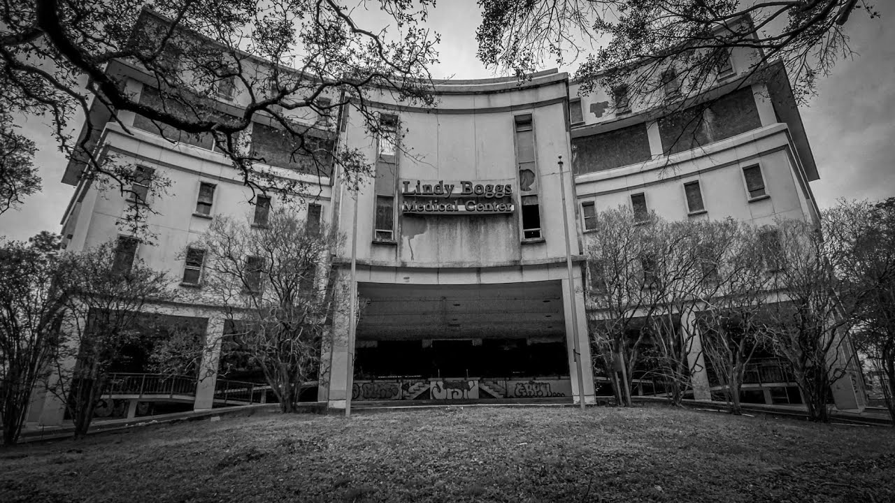 Download Abandoned Lindy Boggs Hospital New Orleans - Basement Flooded Since Katrina 2005 - Found Morgue!