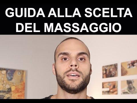 Guida alla scelta del massaggio