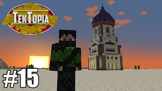 TekTopia #15 - Starting a New Village! (Minecraft Villager Mod)