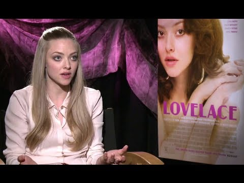 Amanda Seyfried Interview - Lovelace (JoBlo.com)