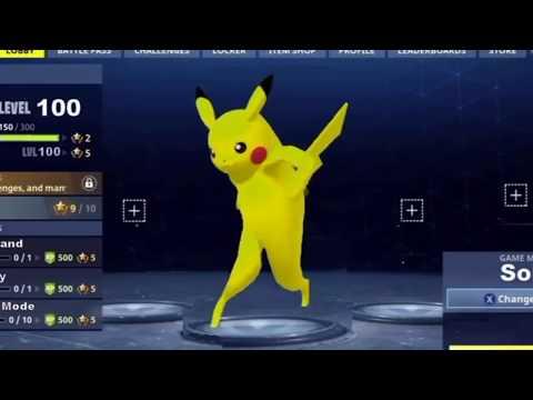 Pokémon Do The Default Fortnite Dance