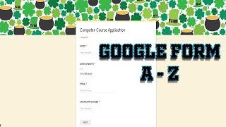 || Google Formulare A-Z Vollständige Anleitung in Tamil