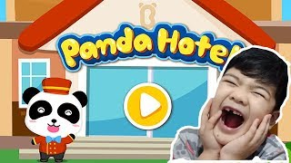 LITTLE PANDA HOTEL MANAGER   GAMEPLAY VIDEO   EDUCATIONAL GAMES FOR KIDS   BABYBUS