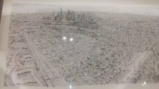 Drawing of Houston City, Republica De Tejas