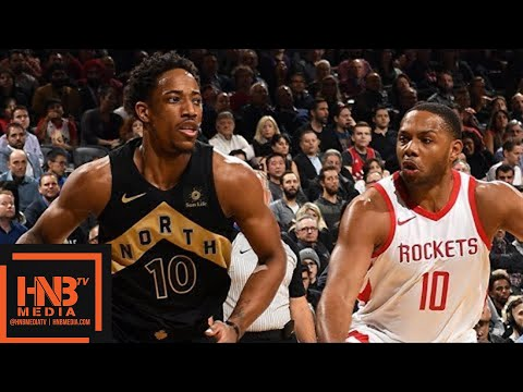 Toronto Raptors vs Houston Rockets Full Game Highlights / March 9 / 2017-18 NBA Season