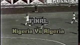 Nigeria vs Algeria - African Cup Of Nations Final 1980