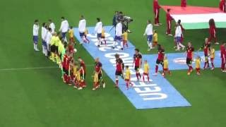 red devils fan s belgium italy euro 2016 pre match 10 national anthems