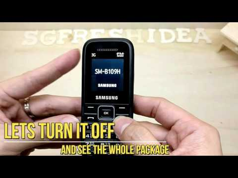 Samsung Keystone 3 With Chinese Menu 3G Senior Phone Singapore